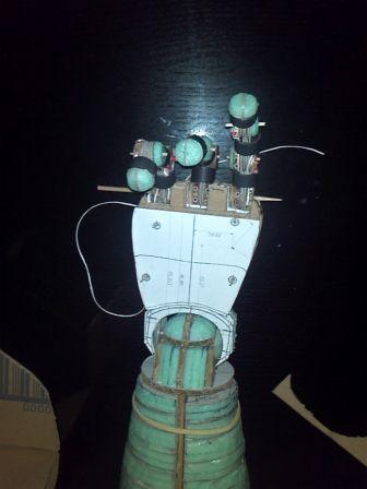 Amby's papercrat robots